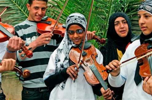 MIDEAST ISRAEL PALESTINIANS HOLOCAUST ORCHESTRA